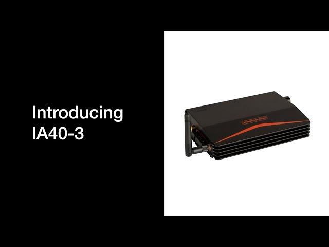 Introducing IA40-3 Installation Amplifier