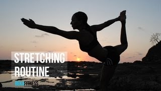 fitness stretching routine
