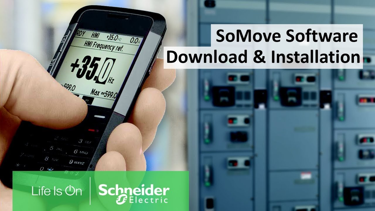 How to Download SoMove to Configure Motor Control Devices from Schneider  Electric