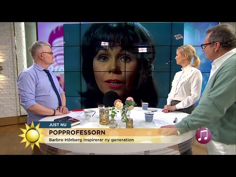 Barbro Hörberg Inspirerar En Ny Generation   - Nyhetsmorgon (TV4)