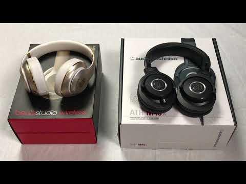 🔥 BEST HEADPHONES 2018 🎧 | Beats Studio Wireless VS Audio Technica ATH-M40x Headphones