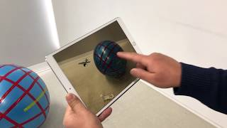 3-D Augmented Reality - Apple ARKit