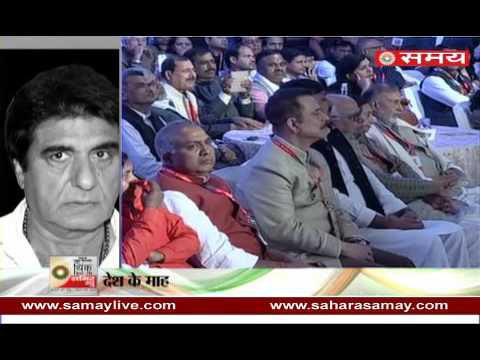 Raj Babbar, Keshav Prasad Maurya locked horns on demonetizationat SNN's THINK WITH ME Summit