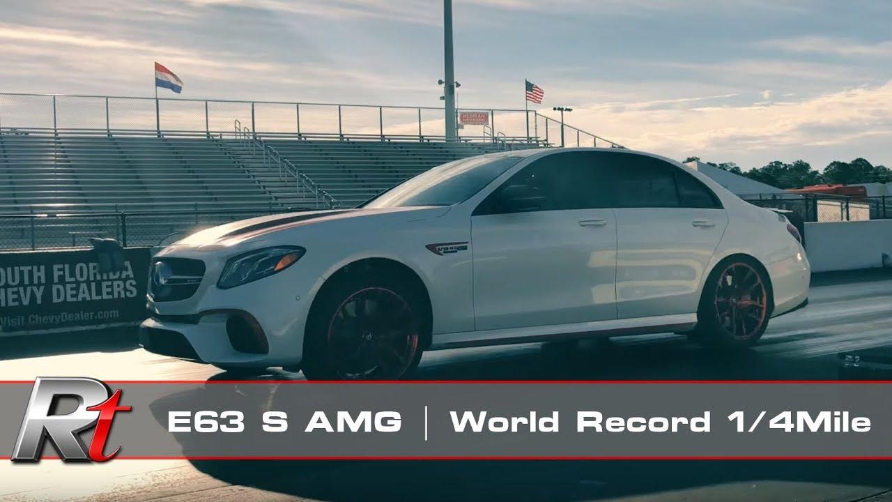 RENNtech   E63 S AMG   World-Record 1/4Mile 10 43@133