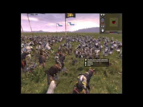 medieval-ii:-total-war---#5-sacro-imperio-romano-germánico-vs-francia-batalla-online