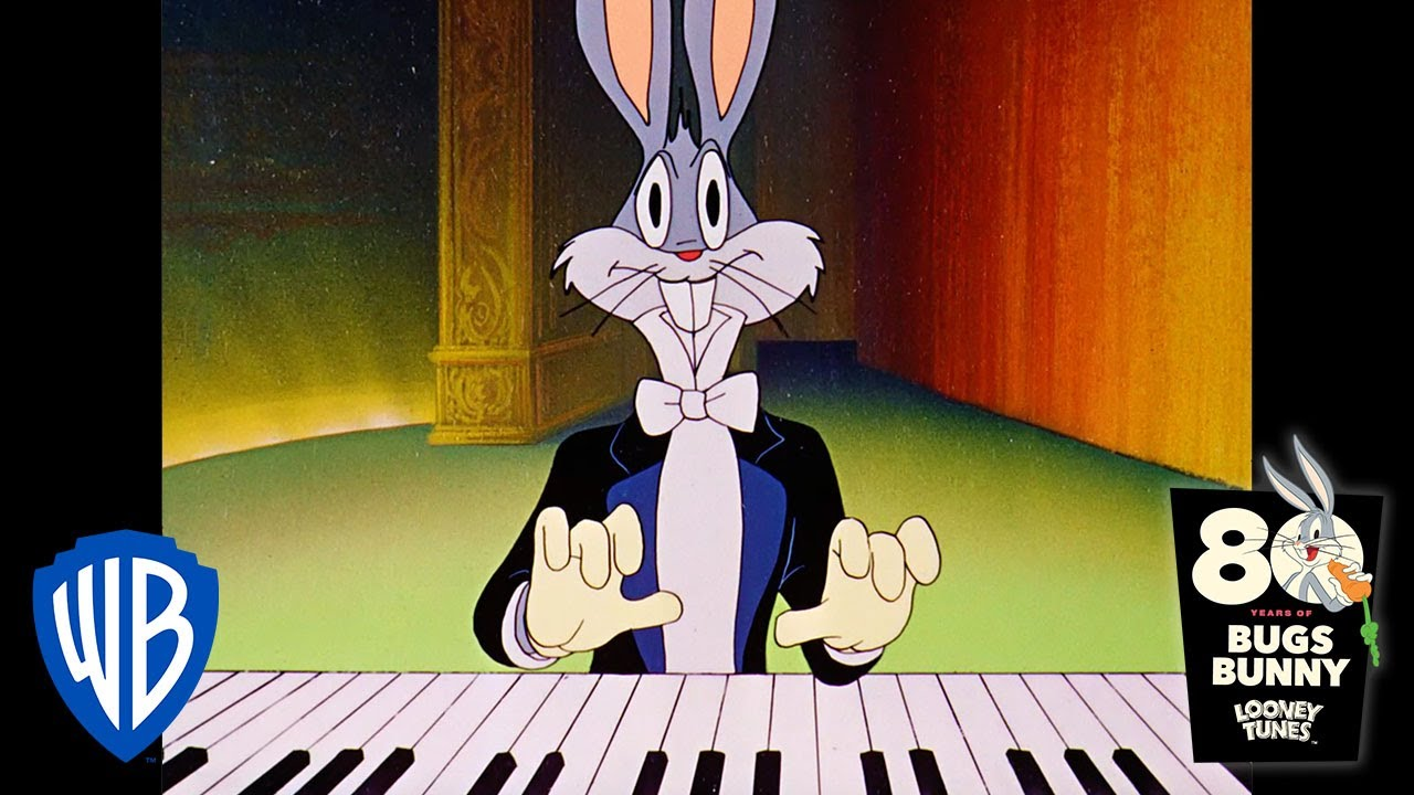 Looney Tunes | Bugs the Pianist | Classic Cartoon | WB Kids