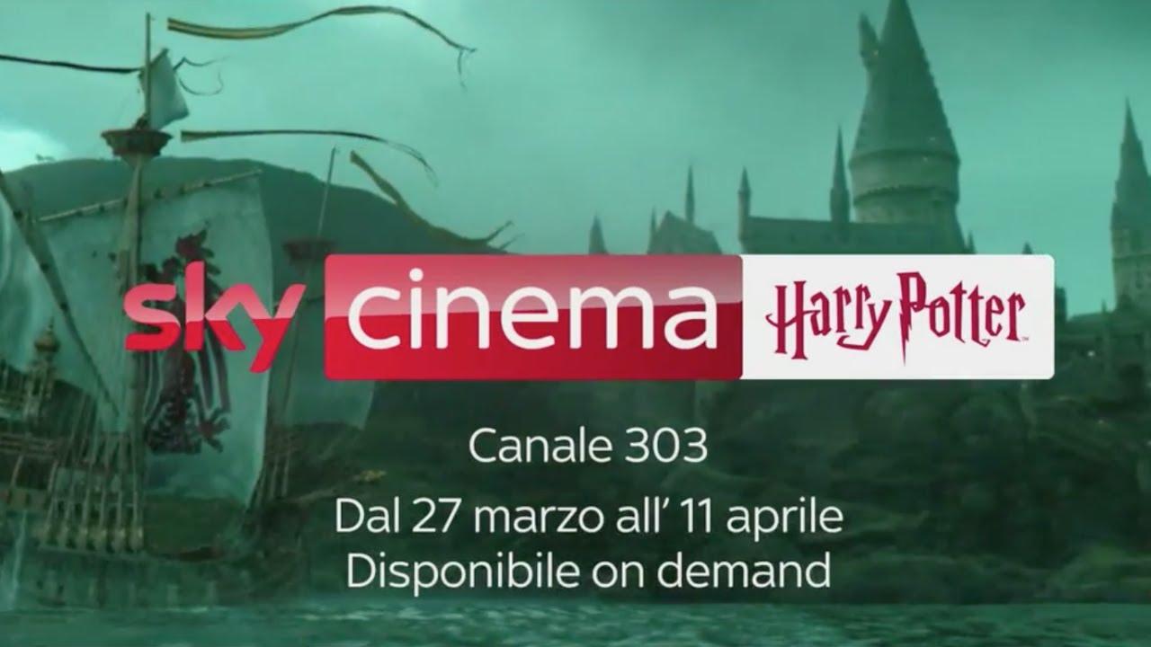 Harry Potter I Film Della Saga Su Sky Cinema Youtube