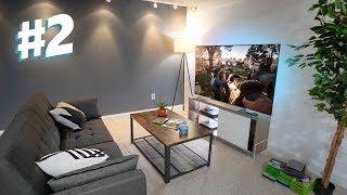 Building the New YouTube Gaming Setup # 2 - Entertainment Setup!