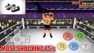 Video Brock Lesnar's Most Shocking F5's : Top 10   WR3D download MP3, 3GP, MP4, WEBM, AVI, FLV Oktober 2018