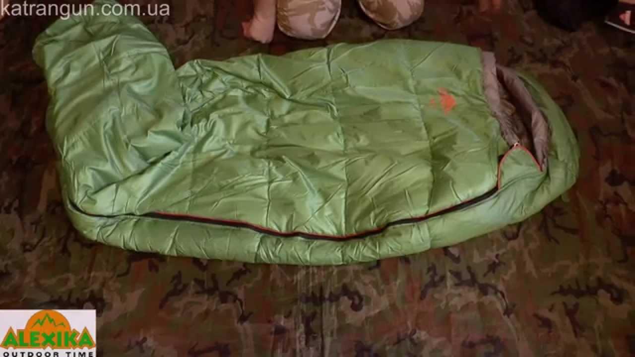 РЮКЗАКОВ.РФ - Спальный мешок Alexika Canada Plus - YouTube