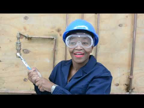 Nonkululeko Zungu (Plumbing Competitor) for the WorldSkills South Africa National Competition