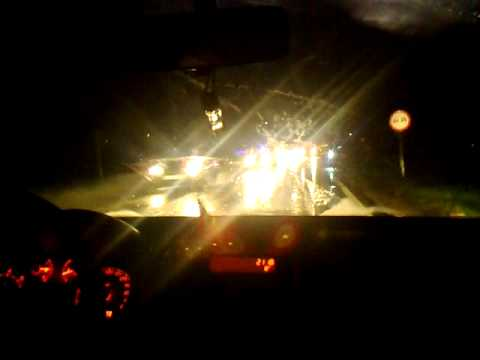 Nokia 6600i slide camera test Low light(car accident)