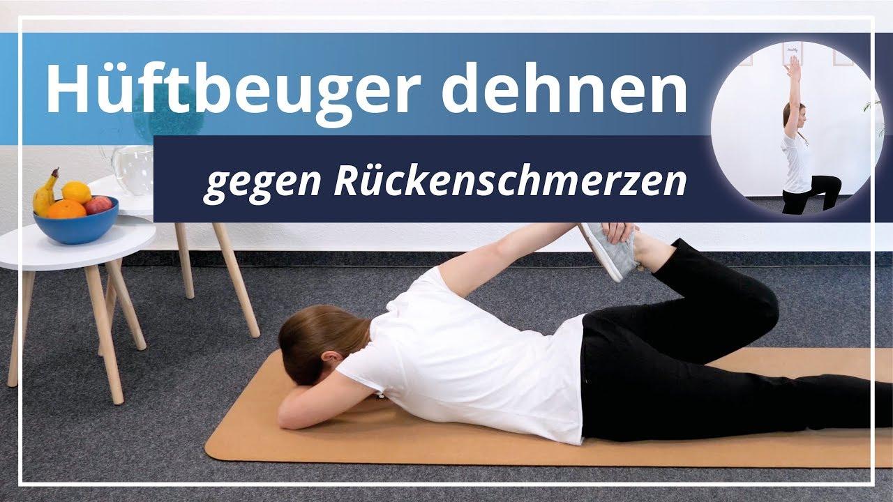 Übungen Hüftbeuger Gegen Deine Dehnen5 Einfache Rückenschmerzen vYgyIbf6m7