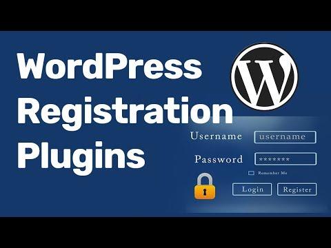 WordPress User Registration Login Plugin  2017