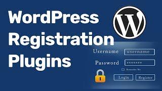 WordPress User Registration Login Plugin  2018 Mp3