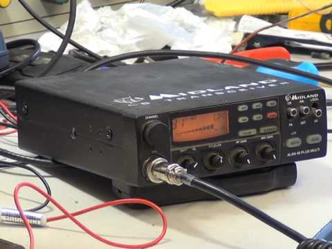Midland 48 Plus Multi UK CE - CB radio (mobile) - On The Air Test