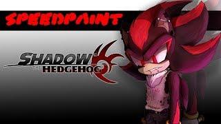 Shadow the Hedgehog | Speedpaint
