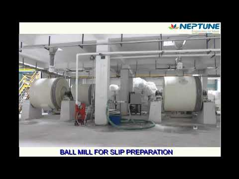 2-Slip & Glaze Preparation - BALL MILL FOR SLIP PREPARATION
