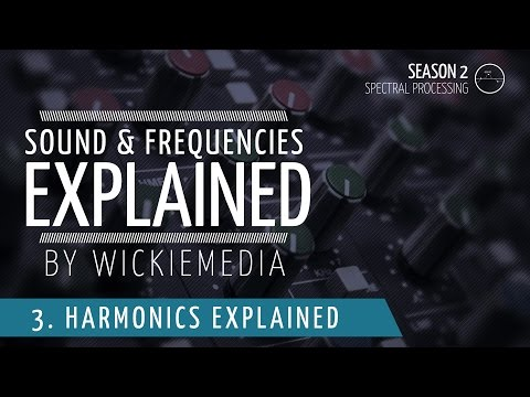 Frequencies & Sound explained #4 : Harmonics & Harmonic distortion