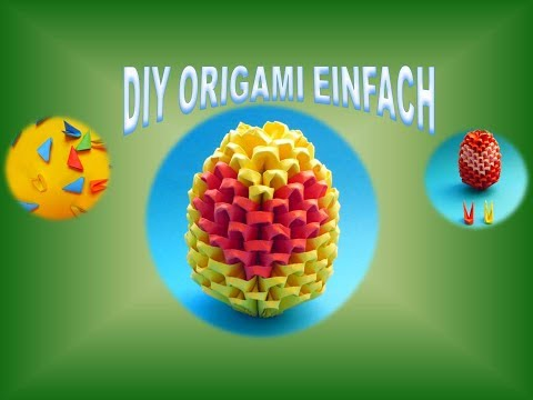 diy origami modular 3d herz basteln geschenk zum vatertag gift ideas father 39 s day mother 39 s day. Black Bedroom Furniture Sets. Home Design Ideas