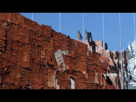 "El Anatsui: ""Broken Bridge II"" 
