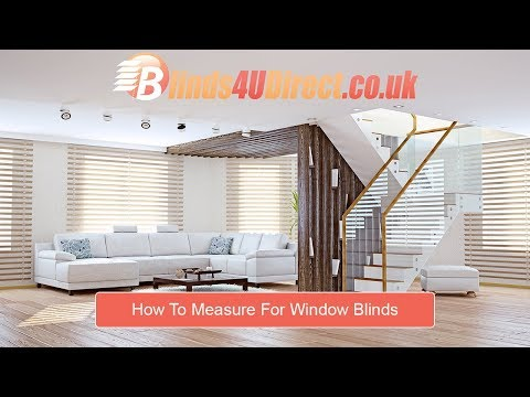 How to Measure for Window Blinds