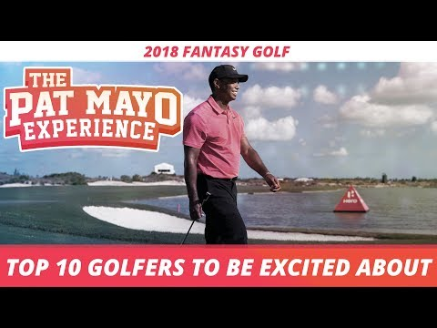 2018 Fantasy Golf - Top 20 Players to Be Excited About for the PGA Tour Season