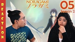 Noragami Season 2 Episode 5 Reaction and Review! YUKINE BECOMES AN IMPERIAL REGALIA!