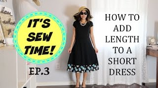 Download HOW TO ADD LENGTH TO A SHORT DRESS Mp3 and Videos