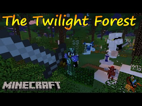 Скачать мод для Майнкрафт 1.6.4 Twilight Forest