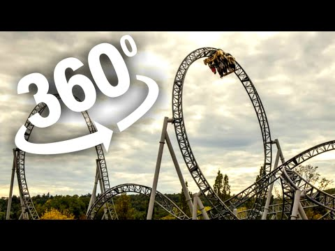 360 Video VR Roller Coaster 360 VR for VR Box 360 Google Cardboard VR 360 4K