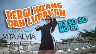 Download Vita Alvia - PERGI HILANG DAN LUPAKAN - dj so so so so ho aa   Remix Full Bass (Official Video)