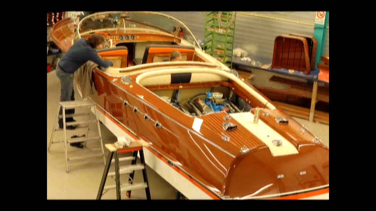 Riva Super Aquarama No. 125 circa 1966 Restoration Video: 2 Years in 2 Minutes. - YouTube