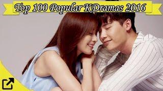 Top 100 Popular Korean Dramas 2016