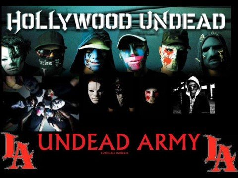 Hollywood Undead - California Lyrics | MetroLyrics