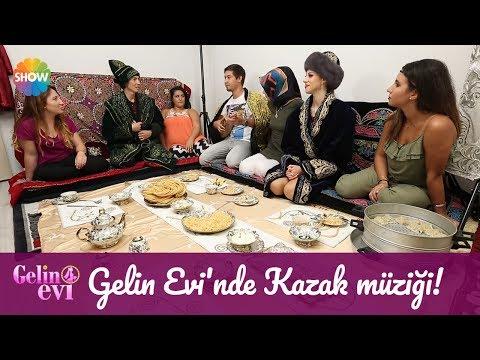 Gelin Evi'nde Kazak müziği!
