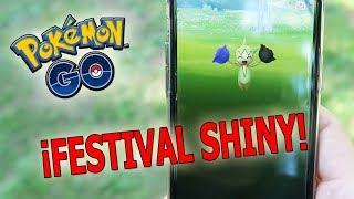 ¡CAPTURO ROSELIA SHINY, LARVITAR SHINY y MUCHOS SHINIES en el SAFARI ZONE de Pokémon GO! [Keibron]