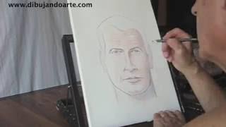 ✔ Como dibujar a James Bond (Pierce Brosnan)