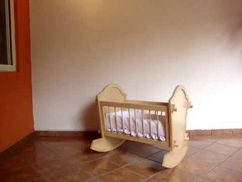 Cuna convertible mois s para beb q k youtube - Cuna de mimbre para bebe ...