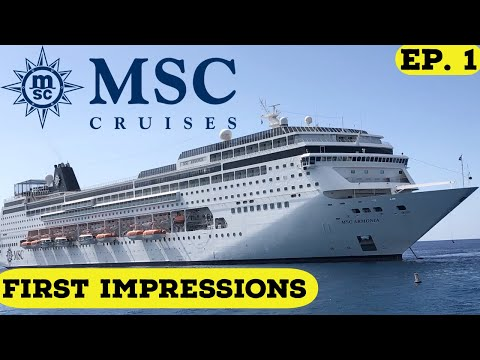 MY FIRST MSC CRUISE L Boarding The MSC Armonia L Cruise Vlog L Ep. 1