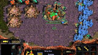 Starcraft:Brood War BWAI Racine 3.0 Zerg vs Terran Ultra Zergling Defiler by Rockefeller