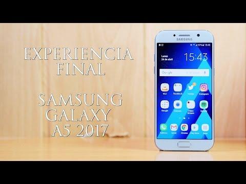 Experiencia Final con el Samsung Galaxy A5 2017