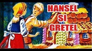 HANSEL SI GRETEL - POVESTI PENTRU COPII - BASME in LIMBA ROMANA