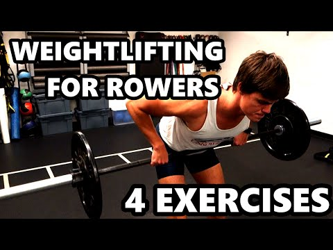 Weightlifting To Improve Your Rowing (4 KEY EXERCISES)