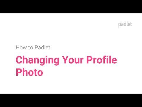 How to  Change Avatar/Profile Photo