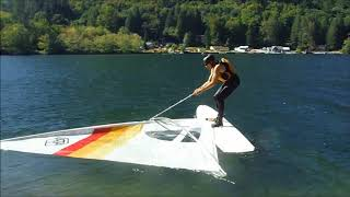 Windsurfing - How hard can it be?