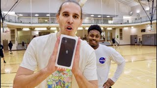 Download Giving Random People An iPhone 11 If They Make A Free Throw! Mp3 and Videos