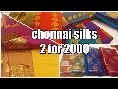 Chennai Silks Silk Saree Combo