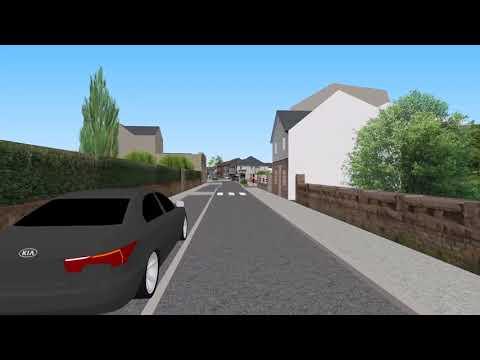 Trégastel - Rue du Général de Gaulle - Film 3D