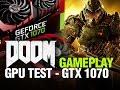 DOOM Gameplay Ultra Settings on MSI GTX 1070 8GB GDDR5 GAMING X with Intel Core i7 4790